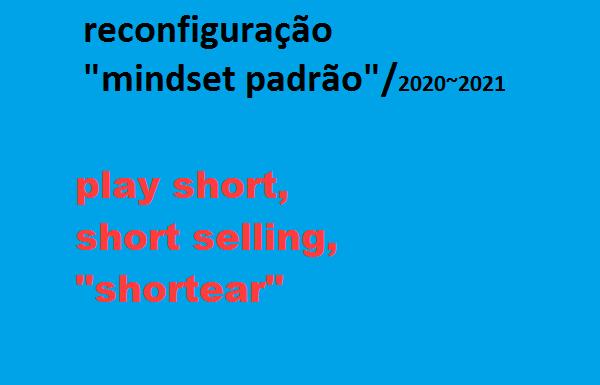"""Play short, """"short selling"""", """"shortear"""", """"mindset padrão"""", SEM RESET, SEM reconfiguração"""